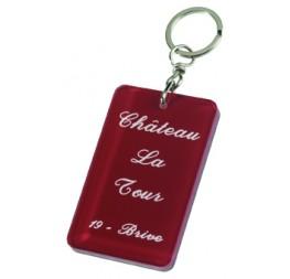 Porte-clés laser personnalisé