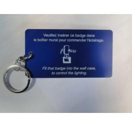 Badge porte-clé pour économiseur énergie
