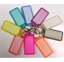 Sachet de 25 Porte clés à étiquettes
